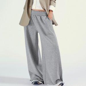 Zara wide leg jogger lounge pants